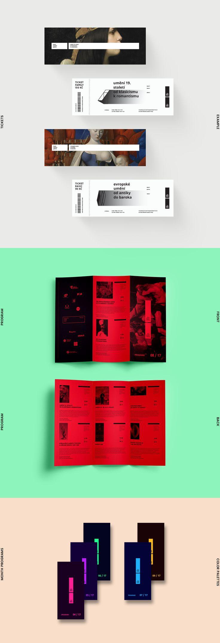 Czech National Gallery—Visual Identity on Behance