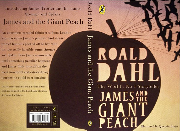 Michele Donnison - James & the Giant Peach book cover