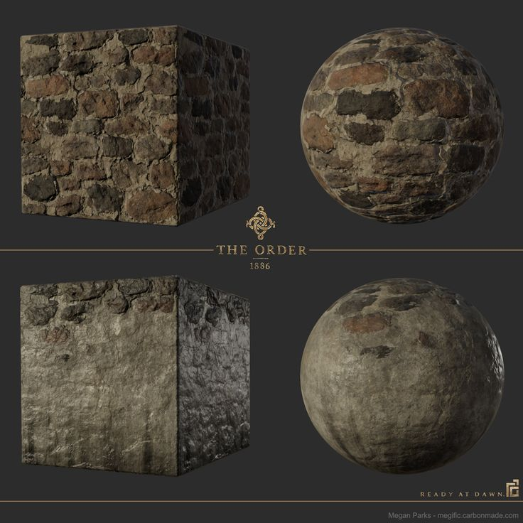 ArtStation - The Order: 1886 whitechapel stacked stone, Megan Parks