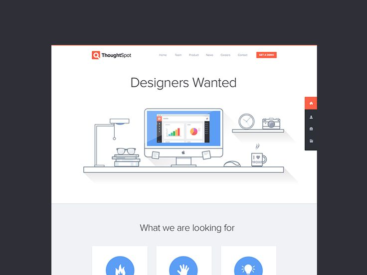 Designers Wanted - Hiring by Jonathan Moreira for ThoughtSpot