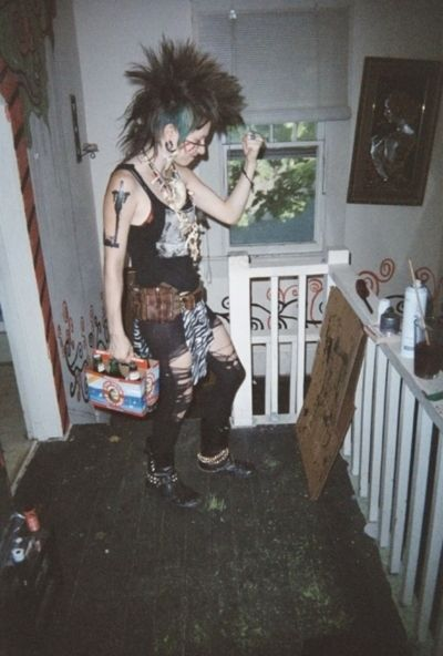 punk rock #mohawk