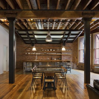 Spaces Barn Style Loft Design, Pictures, Remodel, Decor and Ideas - page 4