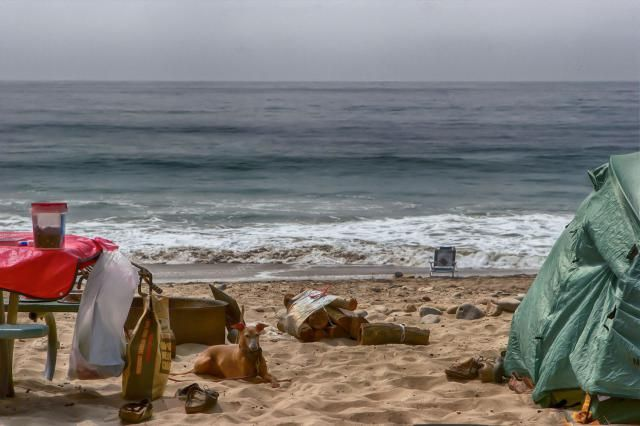 Guide to beach camping in California - places to camp on the beach, fees, how to make reservations