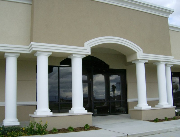 17 best ideas about fiberglass columns on pinterest for Fiberglass architectural columns