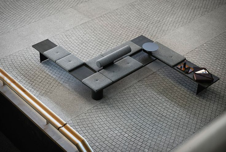 galleria modular seating system by pearsonlloyd for tacchini