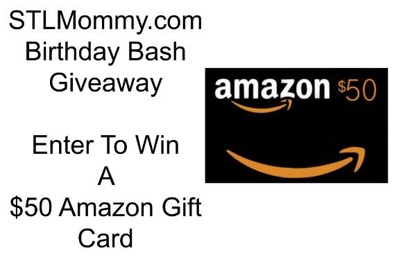 STL Mommy Birthday Bash $50 Amazon Gift Card Giveaway