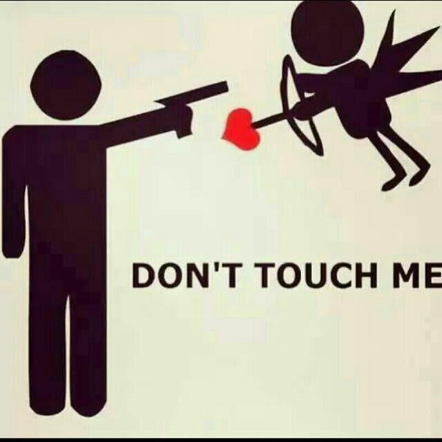 Cupido stammi lontano !