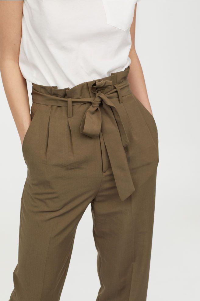 cf5907409632 Pantalon paper bag in 2019   Wardrobe & My Style   Fashion, Paper ...
