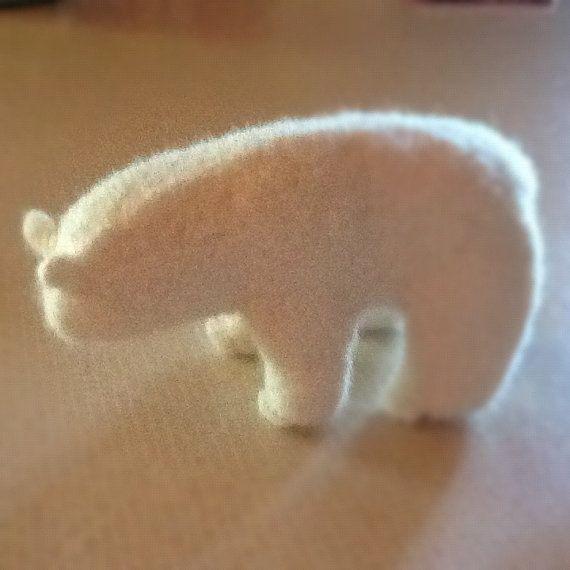 Polar Bear by MisenerKnitz on Etsy, $35.00
