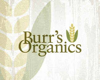 Serif fonts are still great for design, despite the current sans serif typeface trend. The corn cob illustration works perfectly with this logo design.: Design Inspiration, Logo Ideas, Botanical Logos, Logo Design, Logo Inspiration, Logos Design, Logoish Designish, Farm Logo, Burr S Organics