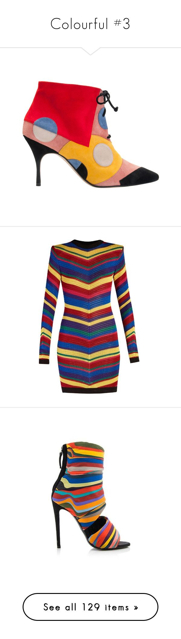 """""""Colourful #3"""" by booknerd1326 ❤ liked on Polyvore featuring shoes, boots, dresses, multi, mixed print dress, short sleeve dress, short dresses, chevron striped dress, short chevron dress and ankle booties"""