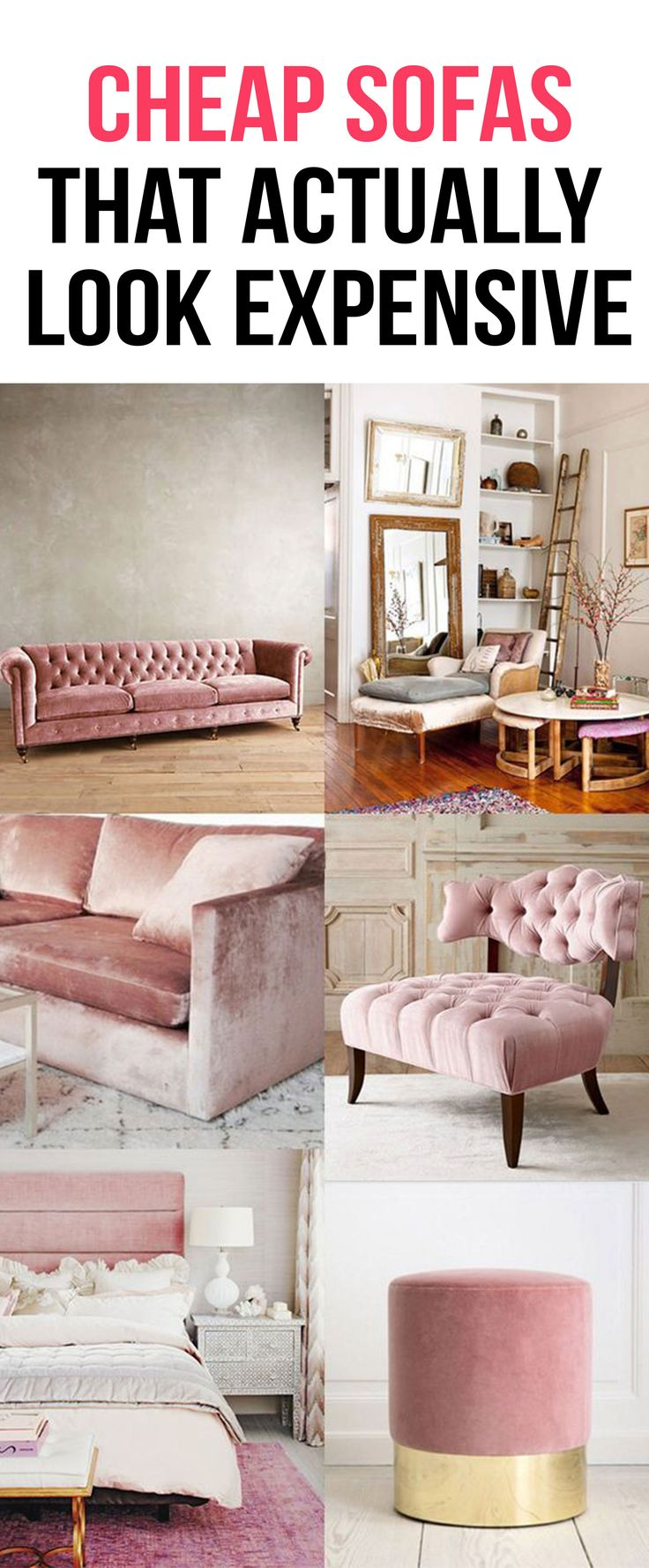 Cheap Sofas That Actually Look Expensive