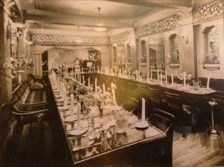 As it was: Banquet Room, Paragon Cafe, Katoomba