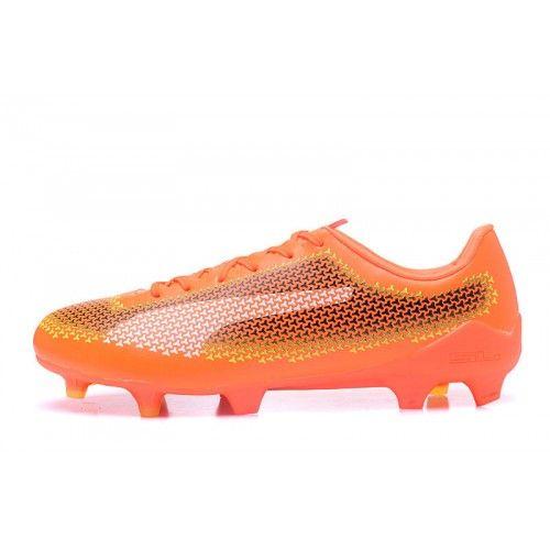 Comprar Puma evoSPEED 17 TPU FG Botas de futbol Naranja