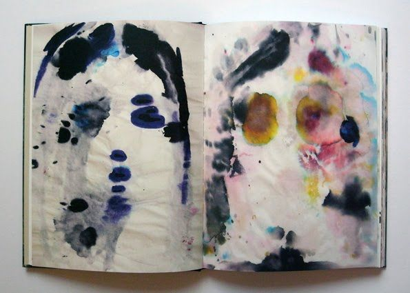 kim gordon's (sonic youth) watercolors