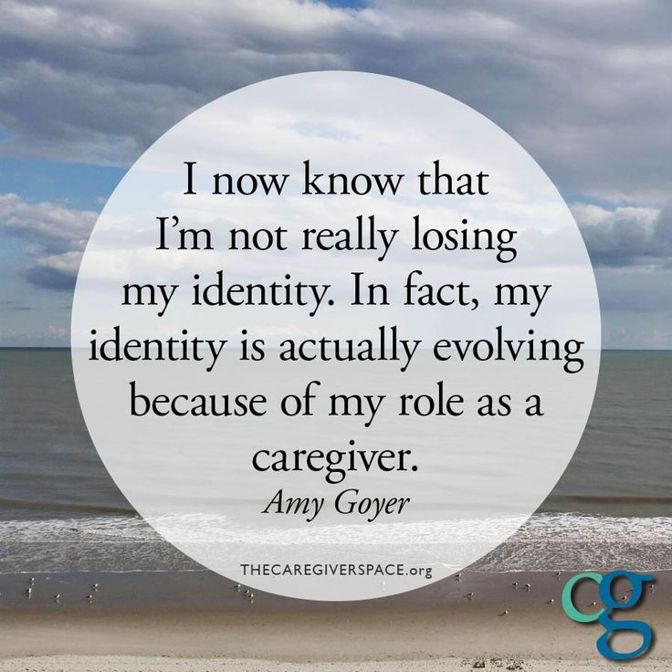 #identity #self #caregiver #role #whoiam #growth