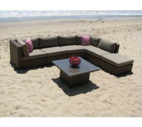 OUTDOOR FURNITURE. 'Villa' Outdoor Couch Modular Setting.