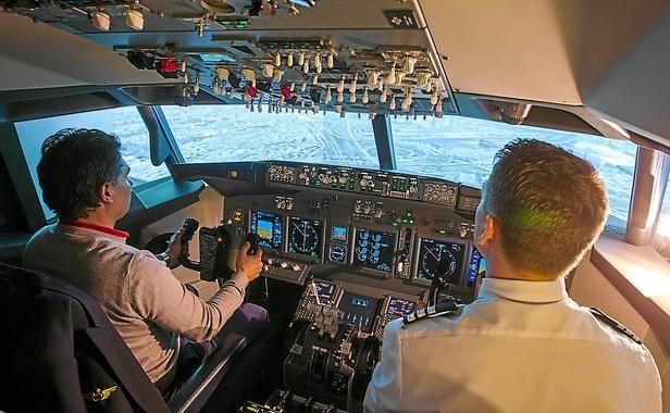 Une simulation de pilotage pour vaincre sa peur de l'avion