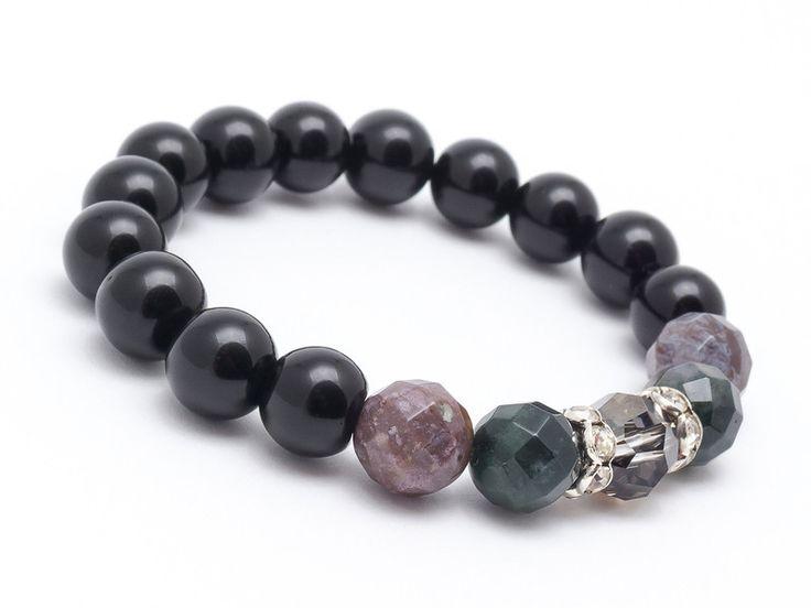 Bracelets – Bracelet AGTIN – a unique product by Blackif on DaWanda