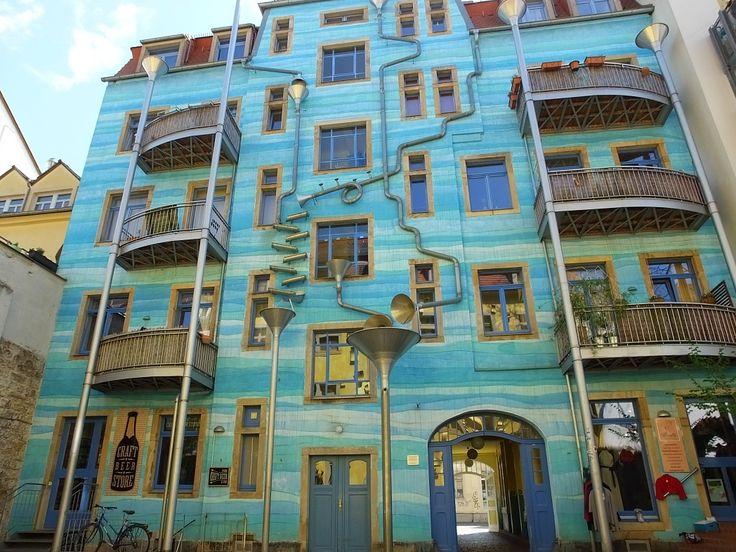 Поющий дом. Дрезден. Саксония.