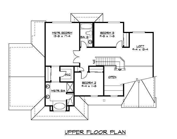 Plan No.330312 House Plans by WestHomePlanners.com