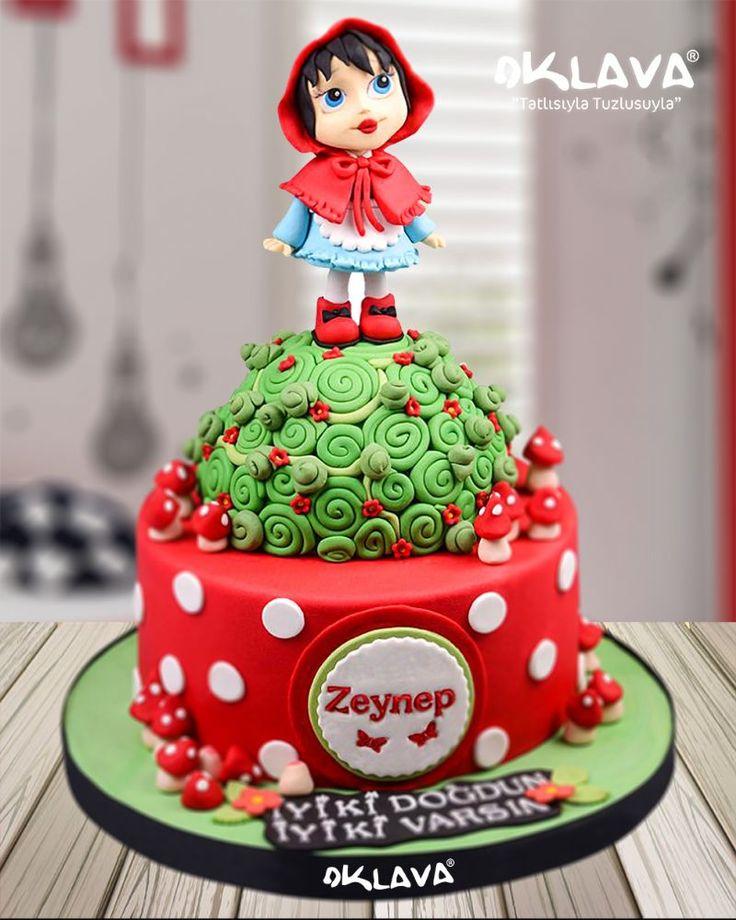 Kırmızı Başlıklı Kız Butik Pasta
