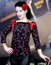 Shock Culture Cherries Top with Red Bows