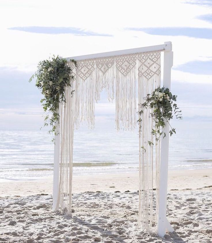 Wedding Altar Hire: Bohemian Beach Wedding Altar Of Our Dreams 🙌🏻