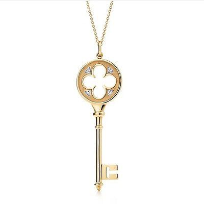 Tiffany & Co. Classic Tiffany Quatrefoil Key Pendant
