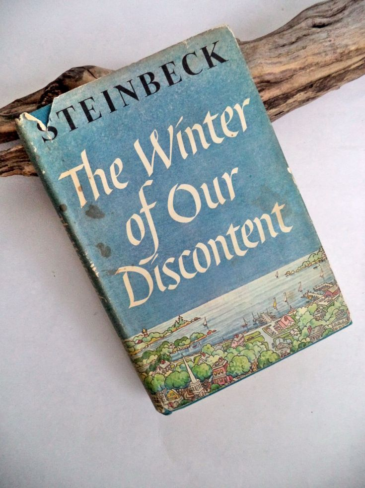Rare 1961 First Edition STEINBECK Winter of Our Discontent Book, Viking, Hardcover DJ book, Nobel Prize, US Literature, 1st Ed/1st Print by MushkaVintage3 on Etsy
