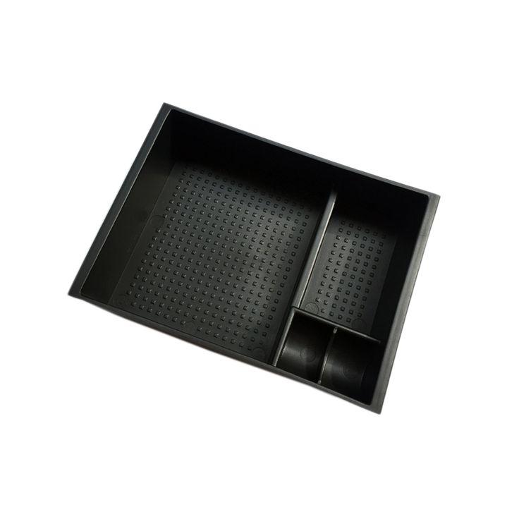 Black Armrest Glove Storage Box Pallet Container For Mazda 3 M3 Axela 2014-2016 For Mazda 6 M6 Atenza 2013-2016