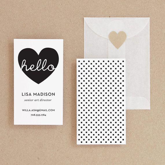 17 best ideas about Cute Business Cards on Pinterest | Cat logo ...