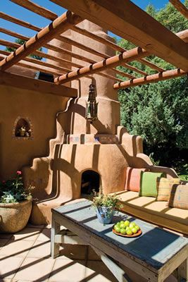 25 best ideas about southwestern outdoor fireplaces on pinterest