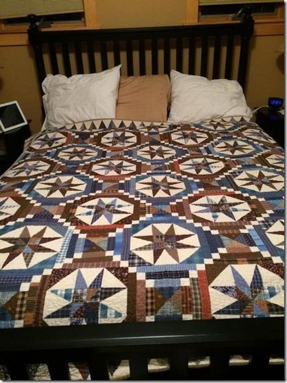 Smith Mountain Morning - a Bonnie Hunter quilt pattern