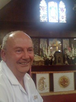 Father George at The Abbey Church, Caboolture