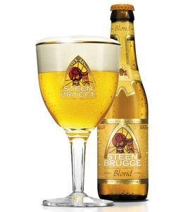 Steenbrugge Blond - Bierebel.com, la référence des bières belges