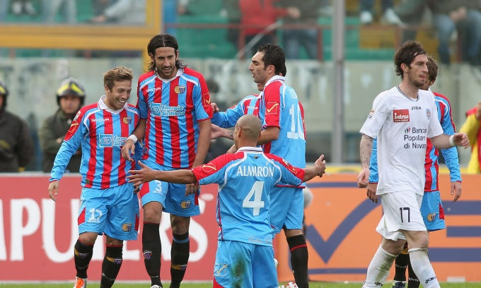 Catania - Novara 3-1 #25agiornata