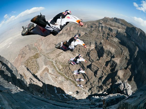Photograph by Michael Clark, Red Bull Content Pool: Adventure Awaits, Extreme Sports, Buckets Lists, Squirrels, Air Force, Extreme Adventure, Bull Air, Red Bull, Based Jumping