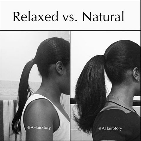 Good point by other pinner:  ~this is not hate on relaxed hair. I repeat. This is not hate on relaxed hair.~ S ||
