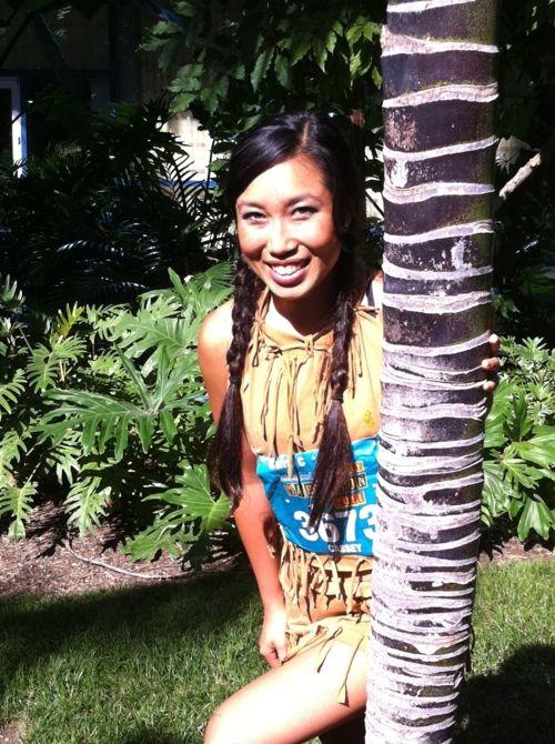 DIY Pocahontas CostumeDiy Indian, Diy Pocahontas, Halloween Costumes Ideas, Diy Disney, Pocahontas Costumes, Indian Costumes, Costumes Diy Clothing, Princesses Pocahontas, Random Pin