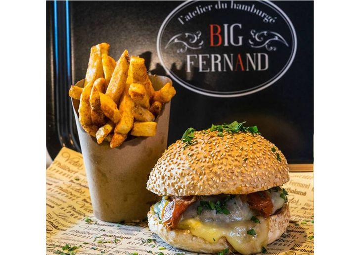 Big Fernand, burgers paris