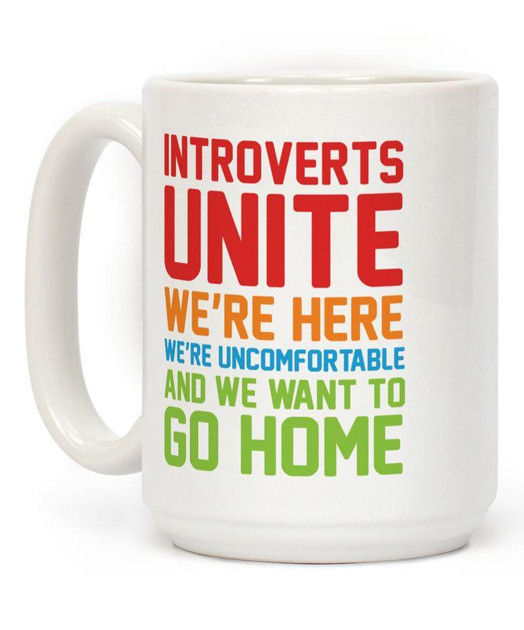 'Introverts Unite' Mug