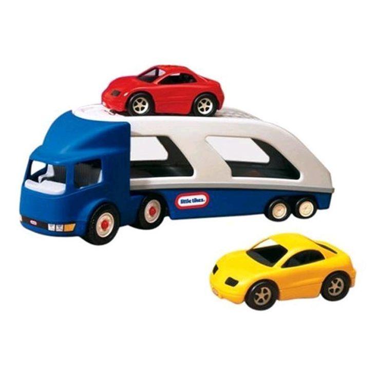 Jetzt Little Tikes Autotransporter mit 2 Autos 170430 bei spar-toys.de günstig online kaufen und sparen.