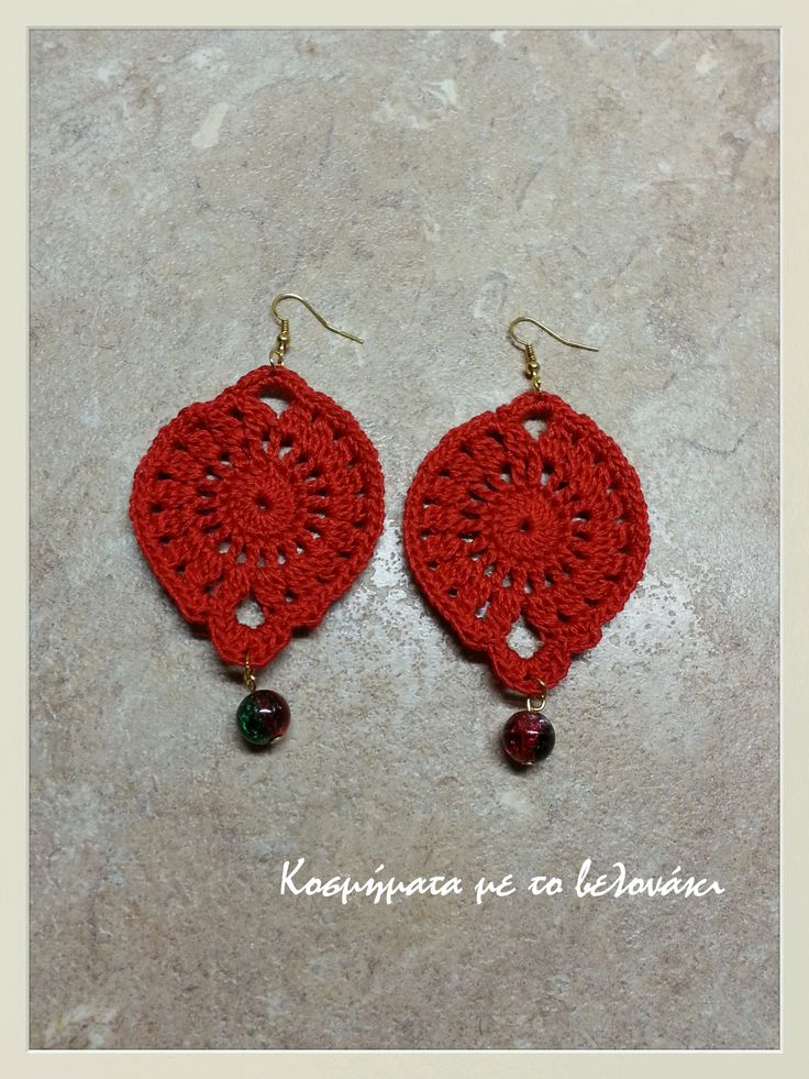 crochet earrings!