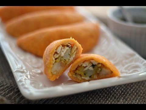 Receta Empanadas de Pollo - Cómo Hacer Empanadas Colombianas - Sweet y Salado - YouTube