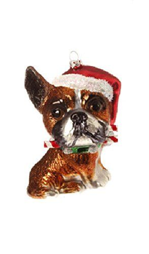 12 best English Bulldog Christmas Ornaments images on Pinterest ...