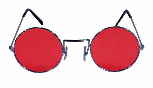 f195f7e7a33 John Lennon Round Red Hippie Sunglasses