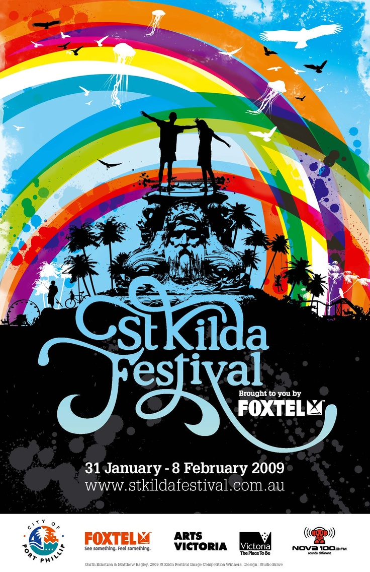 St Kilda Festival Poster 2009