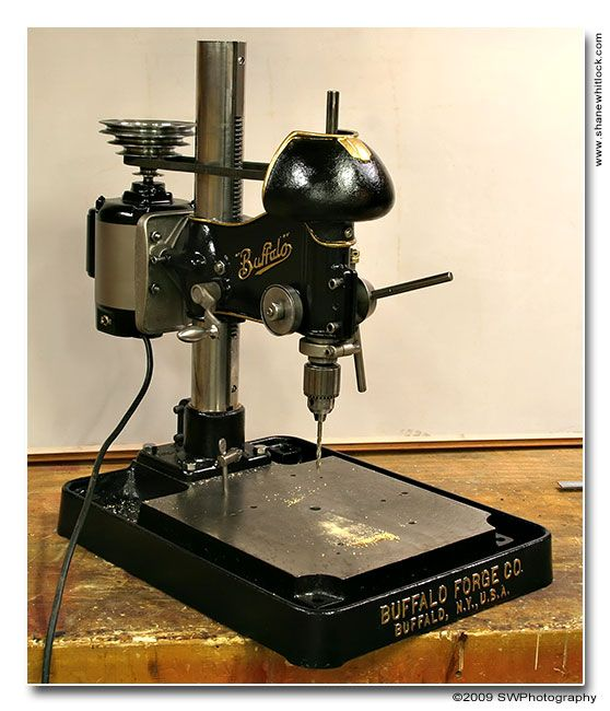 Buffalo Forge Co. Drill Press / Model No. 15-M | VintageMachinery.org