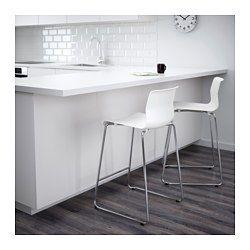 IKEA - GLENN, Barkruk, 66 cm, , De kruk is stapelbaar en neemt dus minder plaats in als hij niet wordt gebruikt